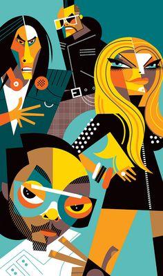 Black Eyed Peas by Pablo Lobato