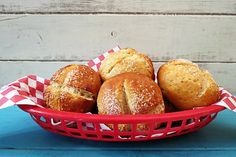 Gluten-Free Pretzel Bun