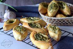 Bułeczki z masłem czosnkowo-pietruszkowym – Smaki na talerzu Sushi, Lunch, Ethnic Recipes, Pizza, Food, Eat Lunch, Essen, Meals, Lunches