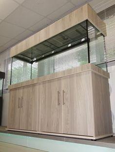 Tropical Aquarium 60x24x18 Classic Cabinet Design in Natural Touch Finish from Prime Aquariums Ltd - Your custom fish tank manufacturer
