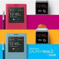 GALAXY Note 3 y Gear están destinados a ser parte de tu estilo de vida por diseño, funcionalidad y precio.