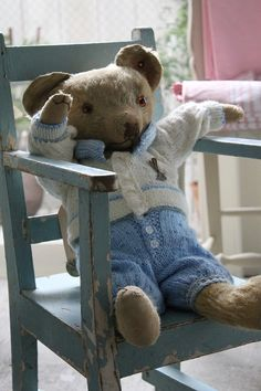 「イギリスアンティーク ... Sweet Little Bear Chair...