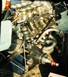 Hesketh 308C - Ford-Cosworth DFV 3.0 V8 (Sweden 1975)