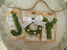 Natural Joy Banner Christmas decoration by JeanKnee on Etsy, $8.00