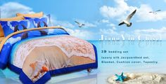 Since 2012, JiangYin Chisel International Trade Co. Ltd began to manufacture bedding set, comforter pillow and so on. Main products are: 3d bedding set, luxury silk Jacquard bed set,Blanket, Cushion cover, Tapestry and so on. Our designer 3d bedding set has been exported to more than 100 countries around the world.   Contact Us:  JiangYin Chisel International Trade Co. Ltd. Add£ºNo.319 Jiangfeng Road,Jiangyin City,jiangsu province,China Phone :+8615152290779 Email…