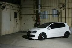 Candy White, MkV GTI. Glorious.