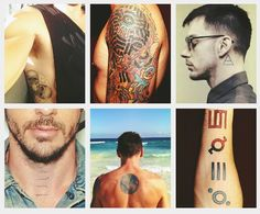 Shannon Leto tattoos