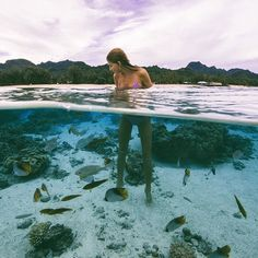 need to go somewhere with clear waters like this