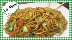 How to Make The Best Chinese Lo Mein ~ Chinese Food Recipe - This Chinese vegetable lo mein dinner is quick, easy, healthy and delicious. I show you my secret ingredient I use to get that smoky hint of flavor in the lo mein recipe chinese food Stir Fry Recipes, Healthy Recipes, Asian Recipes, Ethnic Recipes, Chinese Recipes, Cheap Recipes, Asian Foods, Easy Recipes, Chicken And Broccoli Chinese