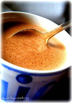 Quirky Cooking: Creamy Hot Chocolate (Dairy Free)