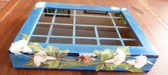 Mi Rincón de Manualidades: IN BLUE  Caja de madera tratada con Gesso pintada ...
