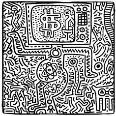 coloriage-adulte-keith-haring-g-5.jpg (720×723)