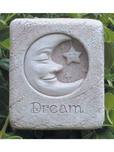 Mini Dreaminu0027 Moon Garden Stone/Plaque