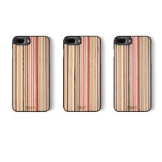 DiamondCut - iPhone 7 PLUS (2016) - Rainbow Iphone 8 Plus, Iphone 7, Iphone Cases, Protective Cases, Cell Phone Accessories, Rainbow, Wood, Handmade, Rain Bow