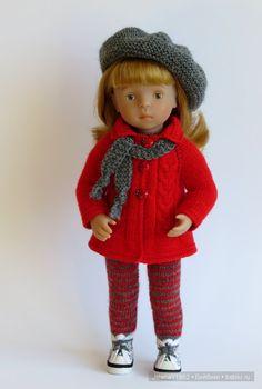 Три в одном... Игровые куклы Käthe Kruse. Minouche / Другие интересные игровые куклы для девочек / Бэйбики. Куклы фото. Одежда для кукол
