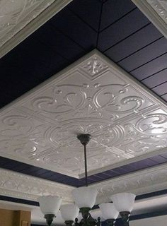 60 Ceiling Tiles Ideas You ve to Know Enjoy Your Time 60 Ceiling Tiles Ideas You ve to Know Enjoy Your Time CJ Trautman CJ Trautman The ceiling is among the largest unbroken stretches seen in hellip Home Ceiling, Bedroom Ceiling, Ceiling Decor, Ceiling Beams, Ceiling Design, Tin Ceilings, Faux Tin Ceiling Tiles, Tin Ceiling Kitchen, Cornices Ceiling