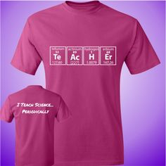 I Teach Science...Periodically - Unisex T