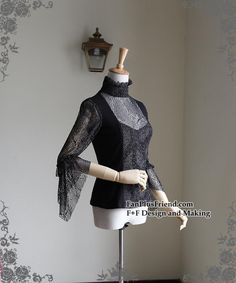 Lace Market is the largest online marketplace for EGL (Elegant Gothic Lolita) Fashion. Sell and buy Lolita dresses, skirts, accessories and more with thousands of users around the world! Gothic Shirts, Dress Hairstyles, Mulberry Silk, Gothic Lolita, Lace Fabric, Long Sleeve Shirts, Chiffon, Vintage Fashion, Elegant