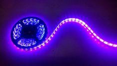Fita Led Luz Negra Uso Externo Ip67 Vendido Por Metro !! - R$ 30,60 no MercadoLivre