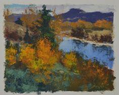 Gabor #Svagrik - Along the Arkansas (paper study)