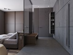 Two Apartments With Sleek Grayscale Interiors