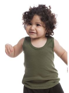 Royal Apparel Baby 2X1 Rib Tank36Olive *** For more information, visit image link. (This is an affiliate link) #BabyGirlTops
