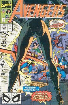 Avengers # 315 by Paul Ryan & Tom Palmer