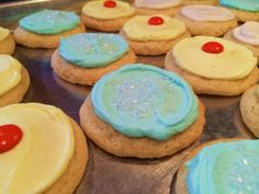 Florida Vacation Cookies - Sunshine and Salt Water!