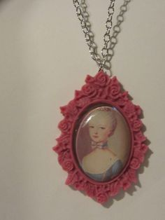 Marie Antoinette Necklace by MadMaggisCreations on Etsy