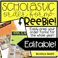 Scholastic book club parent letter school back to school i posted these little guys on instagram and had so many people ask me to fandeluxe Choice Image