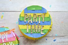 DIY Mini Pinata's - The Happy Scraps