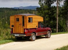 Casual Turtle Campers #camping #truckcamper #handmade