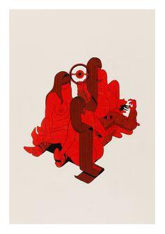 The Illustrations of Stefan Glerum: occupational_hazards_1_glerum.jpg