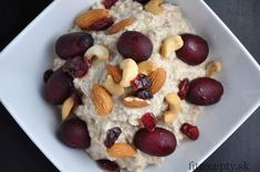 Heathy Breakfast, What To Cook, Healthy Life, Fitness, Oatmeal, Food And Drink, Yummy Food, Healthy Recipes, Vegan