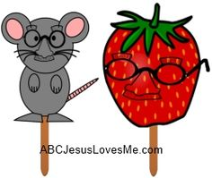 The Little Mouse, the Red Ripe Strawberry, and the Big Hungry Bear Craft