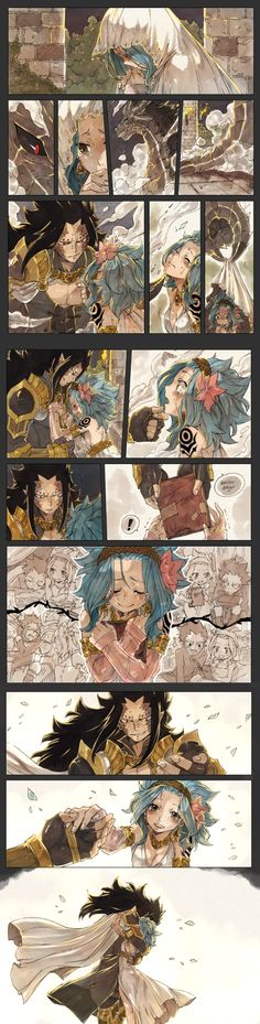 Levy and Gajeel AU The Dragon's Bride