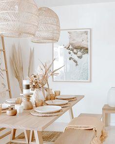 Boho Room, Boho Living Room, Living Room Decor, Living Room Neutral, Dining Room Inspiration, Home Decor Inspiration, Decor Ideas, Design Inspiration, Home Decor Kitchen