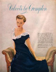 Velvets by Crompton 1949
