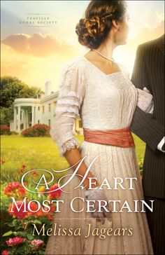 #bookreview of A Heart Most Certain by @MelissaJagears @bethanyhouse @grafmartin by @papertapepins Enjoy a great story and be prepared to be challenged!