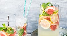 Acqua aromatizzata: 9 ricette da provare per una bevanda fresca e senza zucchero Healthy Eating Tips, Healthy Nutrition, Healthy Drinks, Low Carb Cocktails, How To Stop Snacking, Water Benefits, Water Recipes, Detox Recipes, Drink Recipes