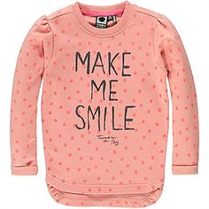 Elika Girls Mid sweater, candlelight peach