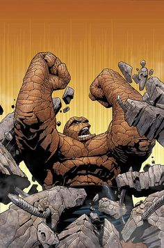 The Thing by Steve McNiven