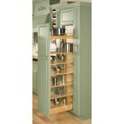 Rev-A-Shelf Rev-A-Shelf 448 Series Wide by Tall Pull Out Pantry Cabinet Natural Wood Tall Cabinet Organizers Pull Out Pantry Organizers Pull - Own Kitchen Pantry Farmhouse Style Kitchen, Rustic Kitchen, Diy Kitchen, Kitchen Storage, Kitchen Ideas, Kitchen Decor, Kitchen Organization, Kitchen Inspiration, Awesome Kitchen