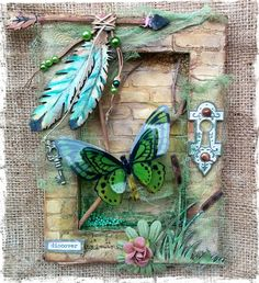Such a Pretty Mess: Mixed Media Reverse Nature Canvas & Video Tutorial from one of my favorite artists.