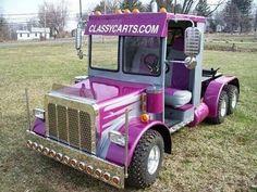 Golf Cart with Semi-Truck Body Kit~