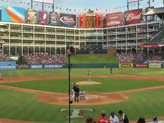 Rangers Ballpark in Arlington..Texas Rangers..Arlington, TX