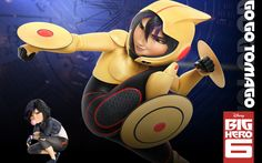 Go Go Tomago in Big Hero 6 - This HD Go Go Tomago in Big Hero 6 wallpaper is based on Big Hero 6 N/A. It released on N/A and starring Ryan Potter, Scott Adsit, Jamie Chung, T.J. Miller. The storyline of this Animation, Action, Adventure, Comedy, Drama, Family, Sci-Fi N/A is about: The special bond that develops between... - http://muviwallpapers.com/go-go-tomago-big-hero-6.html #6, #Big, #Hero, #Tomago #Movies