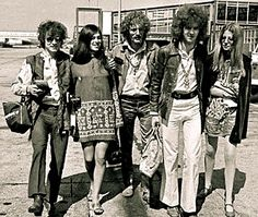 Jack and Janet Bruce, Ginger Baker, Eric Clapton and Charlotte Martin