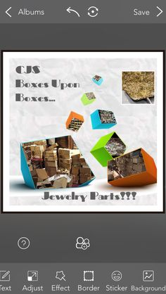 Come shovel @cjs_sales ! Boxes upon boxes of #jewelryparts #vintagebeads #foundobjects #metal #rhinestones #Swarovski #seedbeads #closeouts #clasps #vintagewarehouse #jewelrysupply #jewelrydesigner