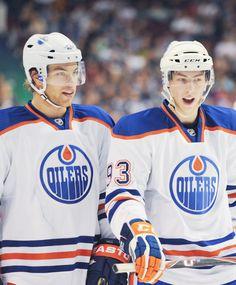 Taylor Hall and Ryan Nugent-Hopkins -  Edmonton Oilers